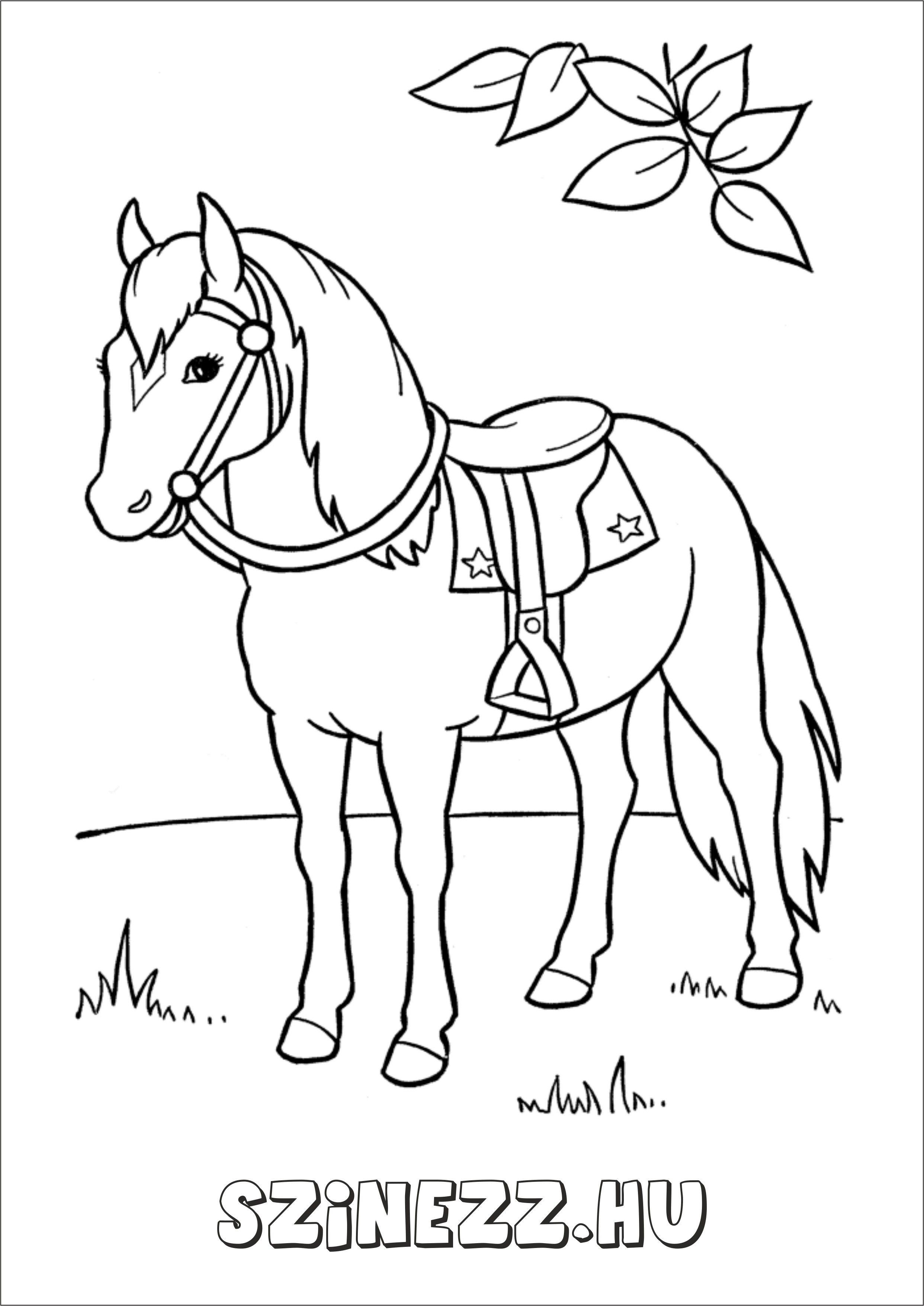 """Képtalálat a következőre: """"ló szinező"""""""