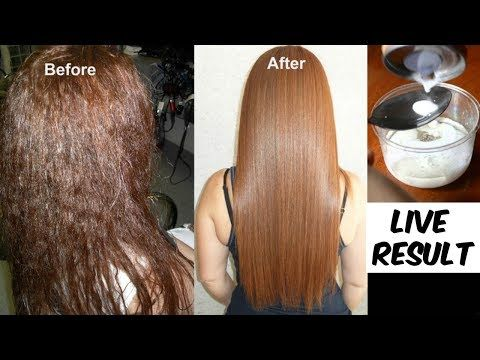 Permanent Hair Straightening At Home Which Is As Good As Keratin
