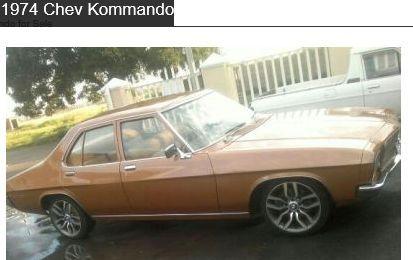 1974 Chevrolet Kommando Car 7 Car Chevrolet Vehicles