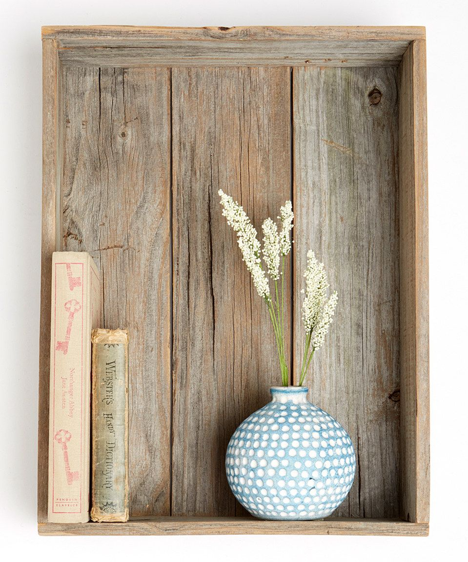 Love this Rustic Shadow Box by DelHutson Designs on #zulily! #zulilyfinds