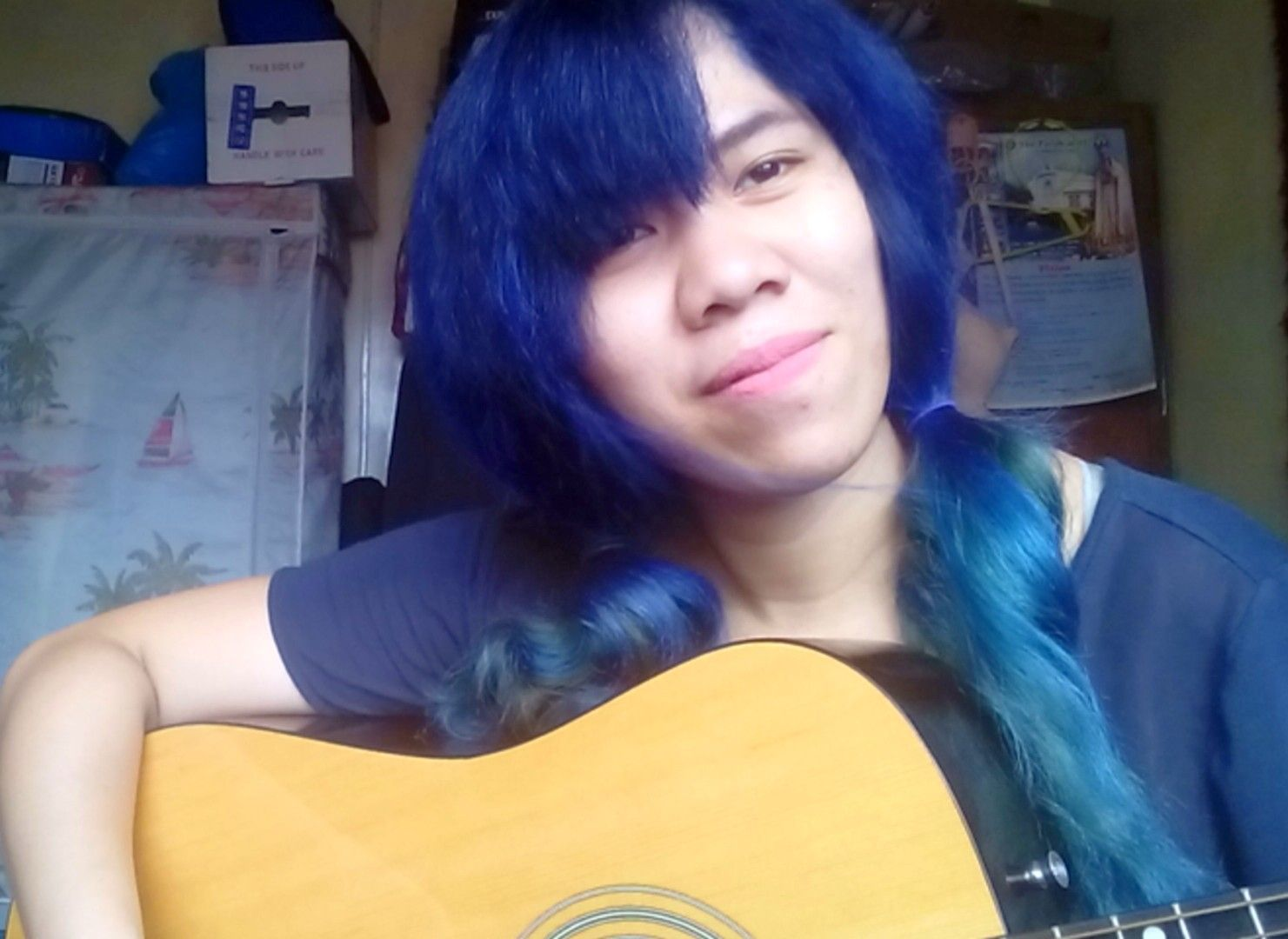 Electric Blue Hair Coz Life Is Too Short To Have Boring Hair