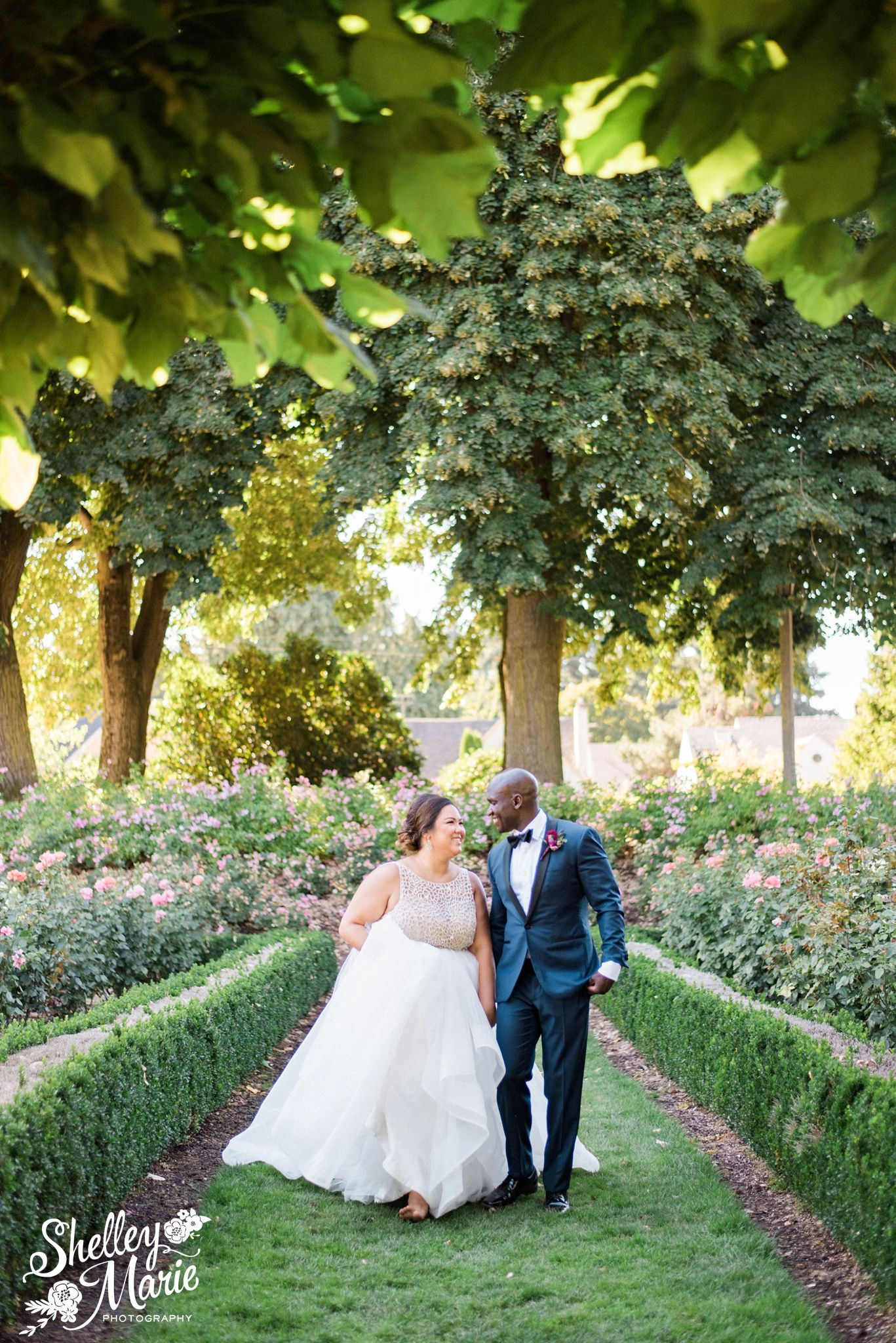 Peninsula Park Rose Garden Portland Oregon Wedding Www Shelleymariephoto