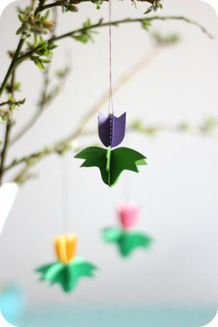 Room Decoration Diy Fresh Spring Decoration Made Of Paper