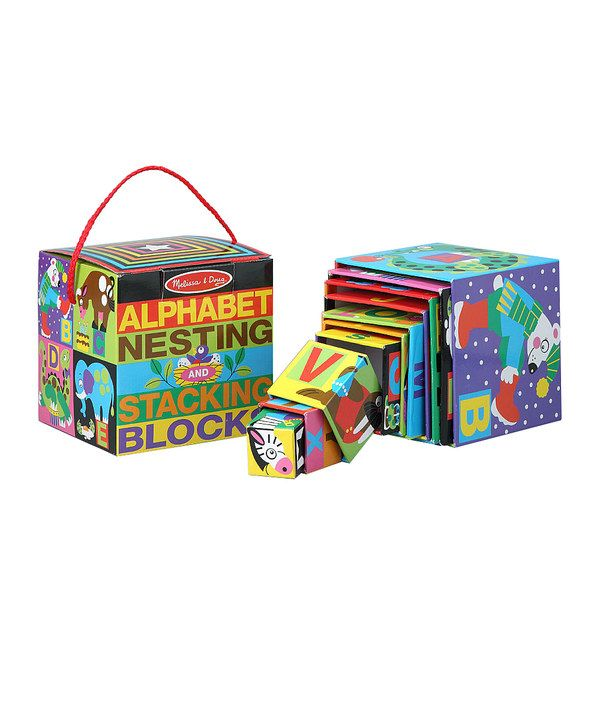 Look At This Melissa Doug Alphabet Nesting Stacking