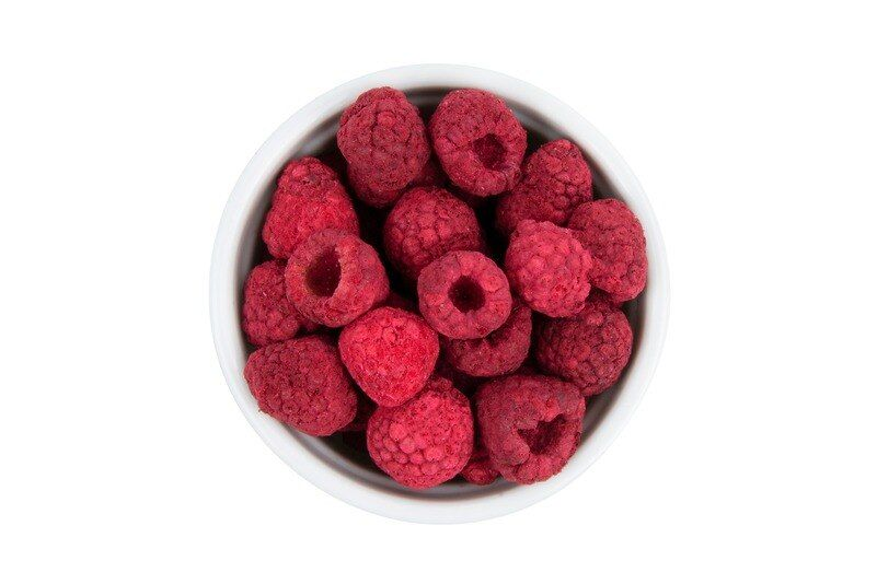 Freeze-Dried Raspberries - 2 ounces