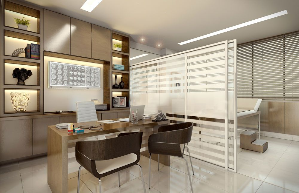 consultorio moderno cabinet medical pinterest design services de sant salles de soins et. Black Bedroom Furniture Sets. Home Design Ideas