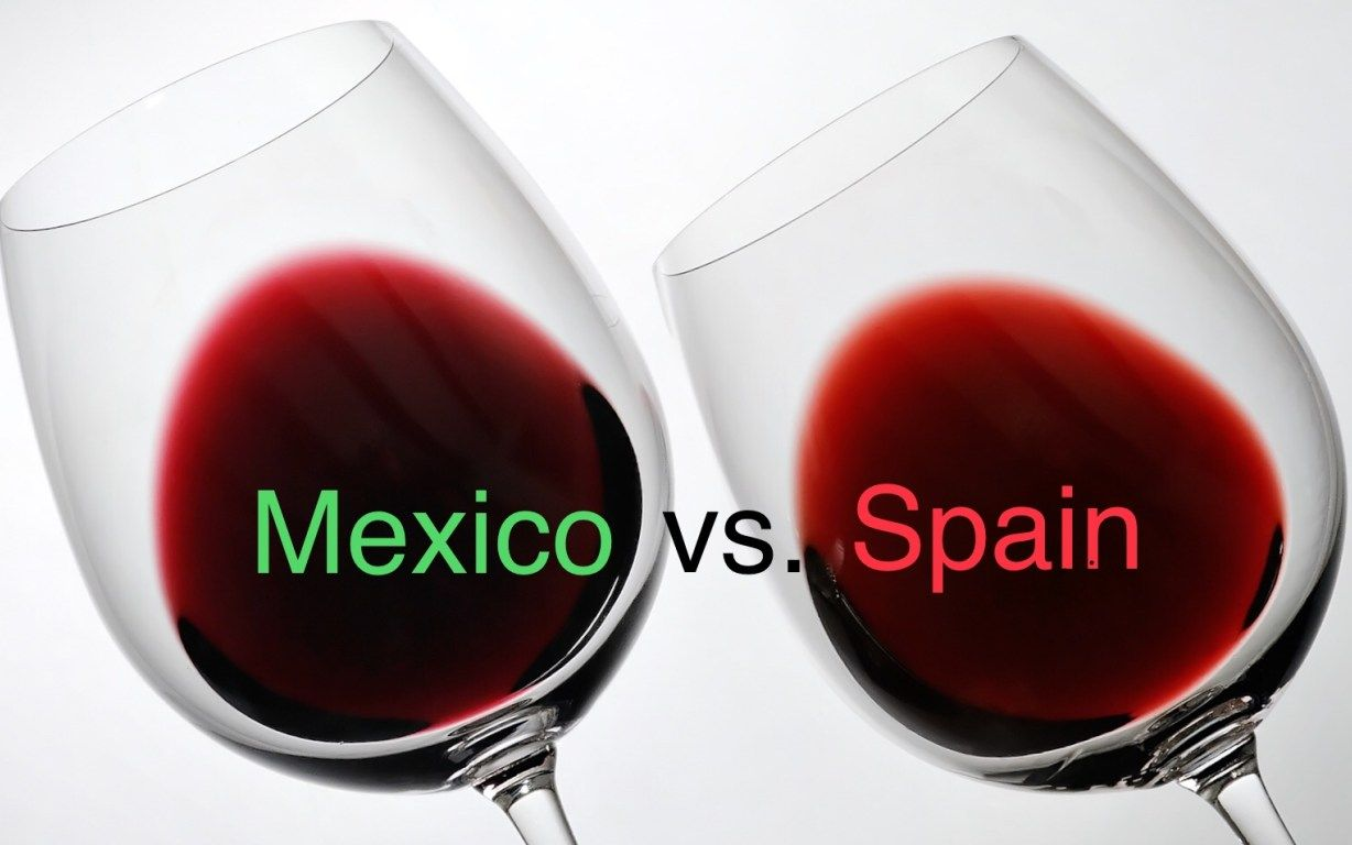 Mexican Wines Make A Little History Right Here In San Miguel Wine Making Wine Advertising Wines