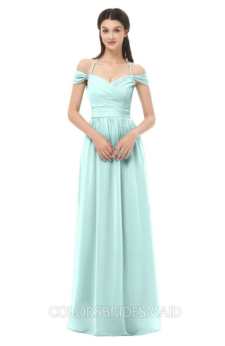 1ff67ae95d6f ColsBM Amirah Bridesmaid Dresses Halter Zip up Pleated Floor Length Elegant Short  Sleeve #colsbm #bridesmaids #bridesmaiddress #weddings