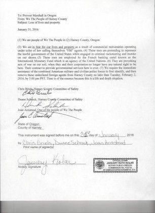 provost marshal letter
