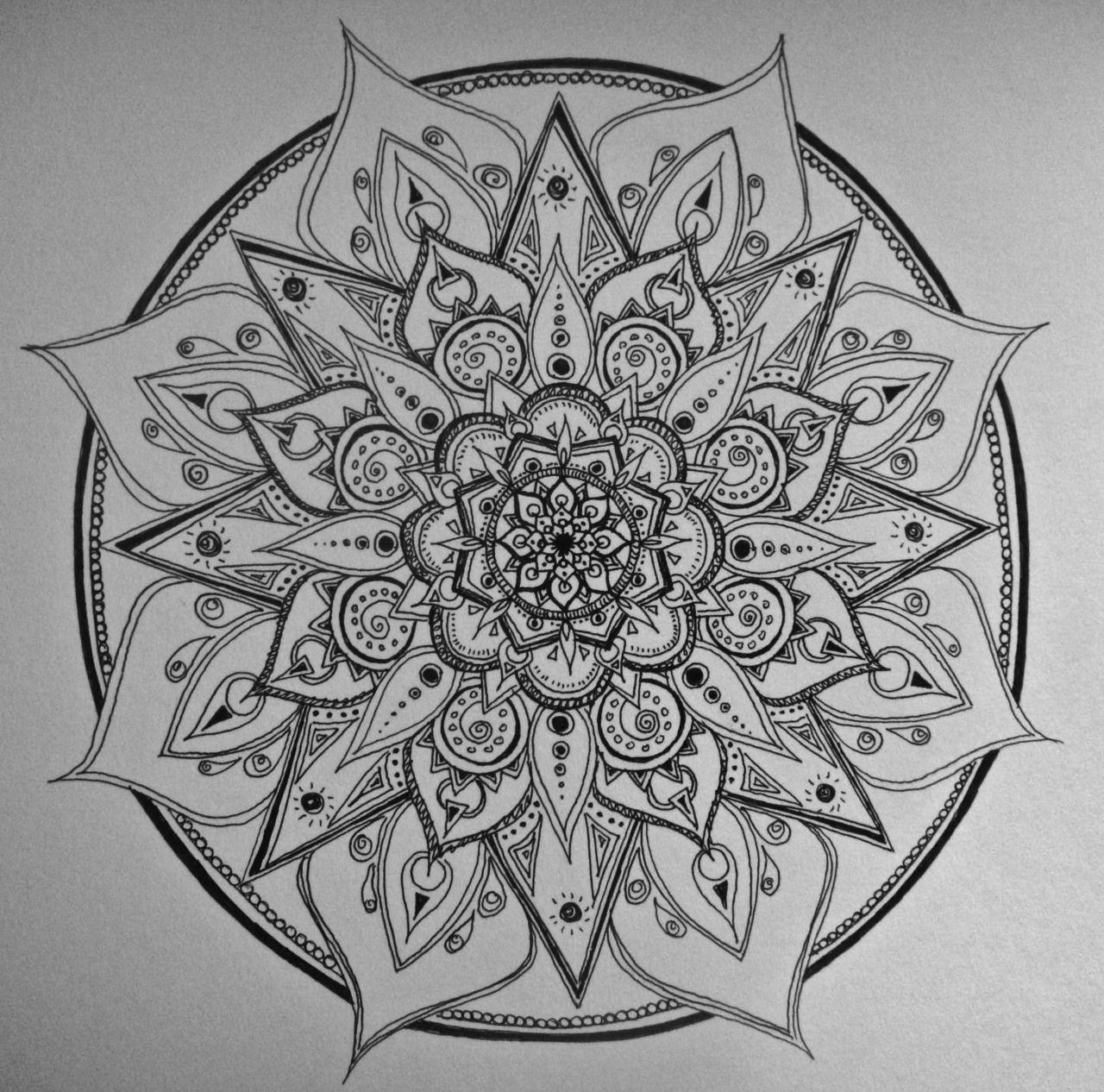 Mandala Tattoo Design On Pinterest: View Thousands Amazing Images On Hdimagelib.com
