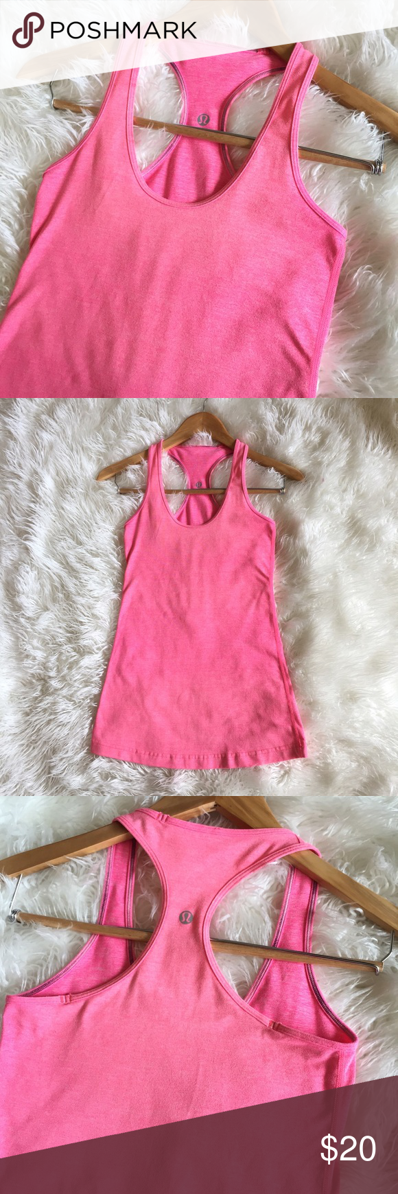 Lululemon athletica racer back tank top This tank top is in great condition! No marks or stains. Non-smoking pet free home. lululemon athletica Tops Tank Tops