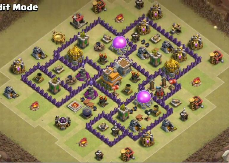 25 Best Th7 War Base Links 2020 New Anti 3 Stars Dragon War Clash Of Clans Base