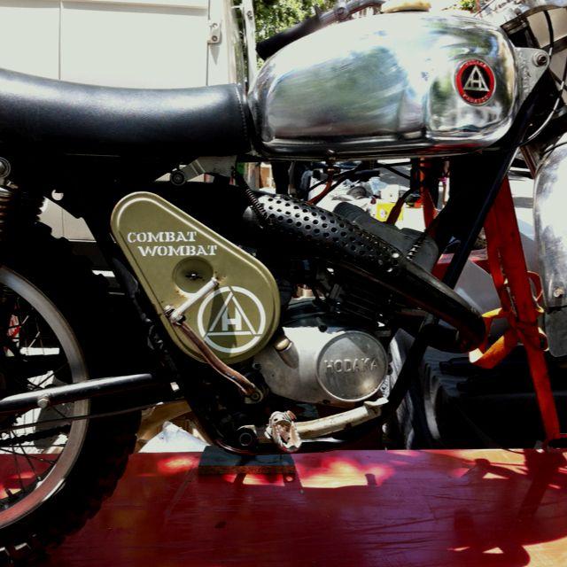 Best Bike Name Ever Hodaka Combat Wombat Competition Version Of