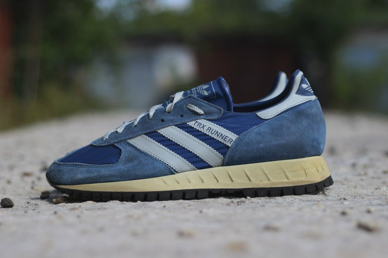 Adidas TRX Runner. Release: 1980s. Made in West Germany. #adiporn #