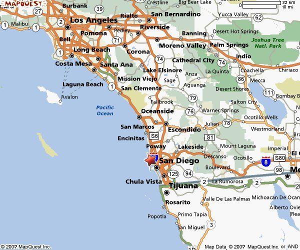 Laguna Beach California Map Map of California showing laguna beach |  & Los Angeles Beaches
