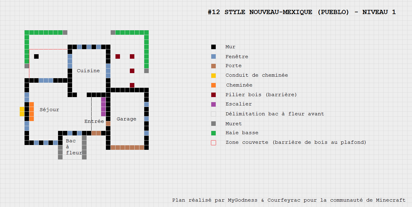 [Galerie] Plans De Maisons Pour Minecraft [Edit: Plans Listés En 1ère Page