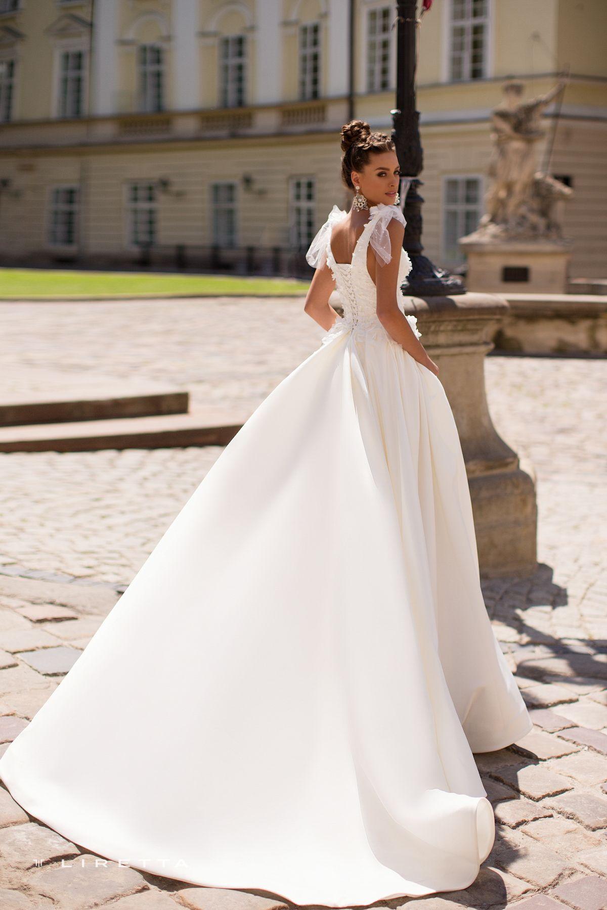 7df73ccb97a Liretta Wedding Dress - Kona White dress Свадебное платье Белое платье
