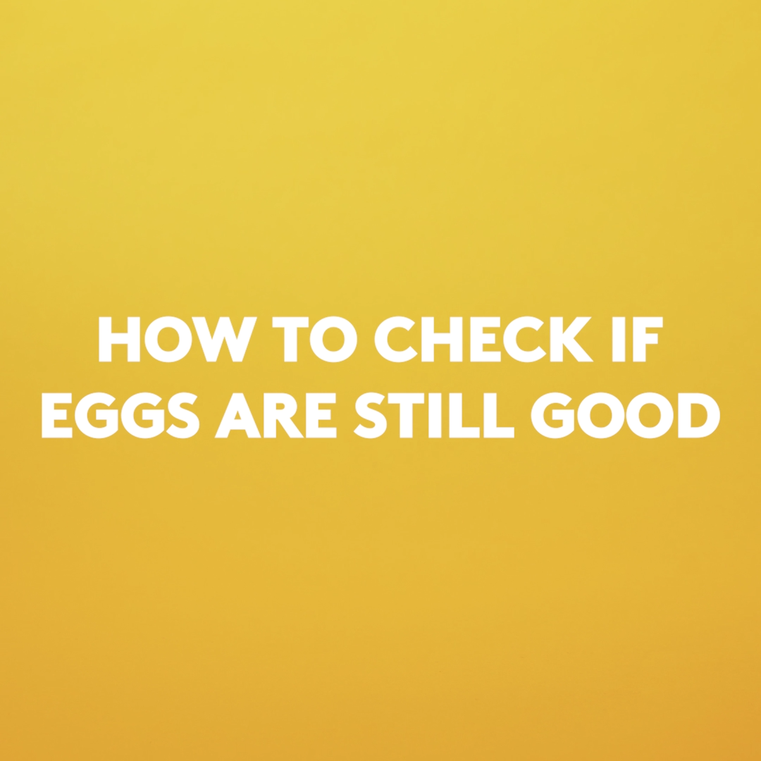 This Is the Easiest Way to Tell if Your Eggs Are Old is part of Eggs - You may be tossing good eggs if you go by the sellby date  Here's how to tell if eggs are old