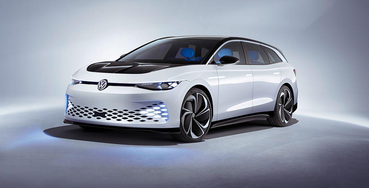 Volkswagen ID. Space Vizzion Concept Unveiled At LA Auto Show — urdesignmag