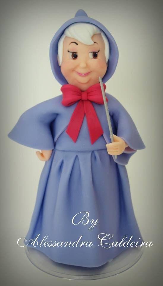 Fairy Godmother Alessandro Caldeira Gumpaste Figures ...