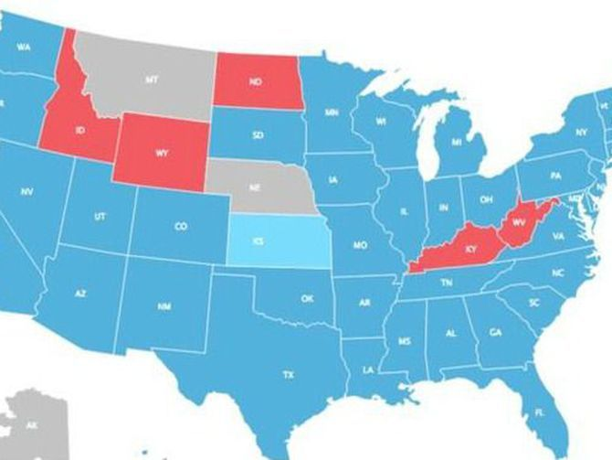 Millennial voters would turn US blue? Viral map may be ...