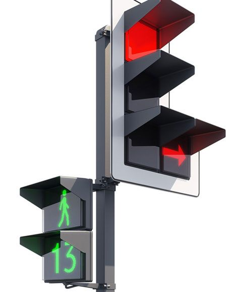 Russian Design Studio Art Lebedev Has Come Up With An Elegantly Simple Redesign Of The Traffic Light It Would Feature Square Lens Urun Tasarimi Mimari Tasarim