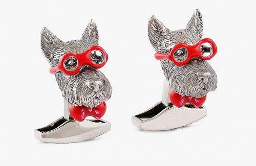 Tateossian Bookish Scottish Terrier Pin 6UDQvr