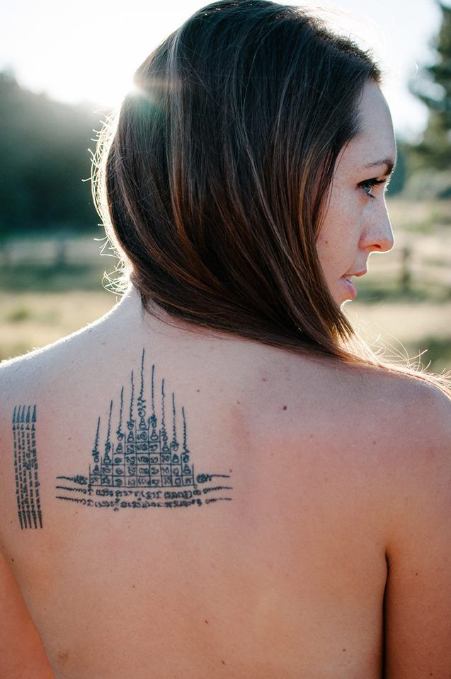 Thai Tattoo On Pinterest Buddhist Tattoos Buddhist