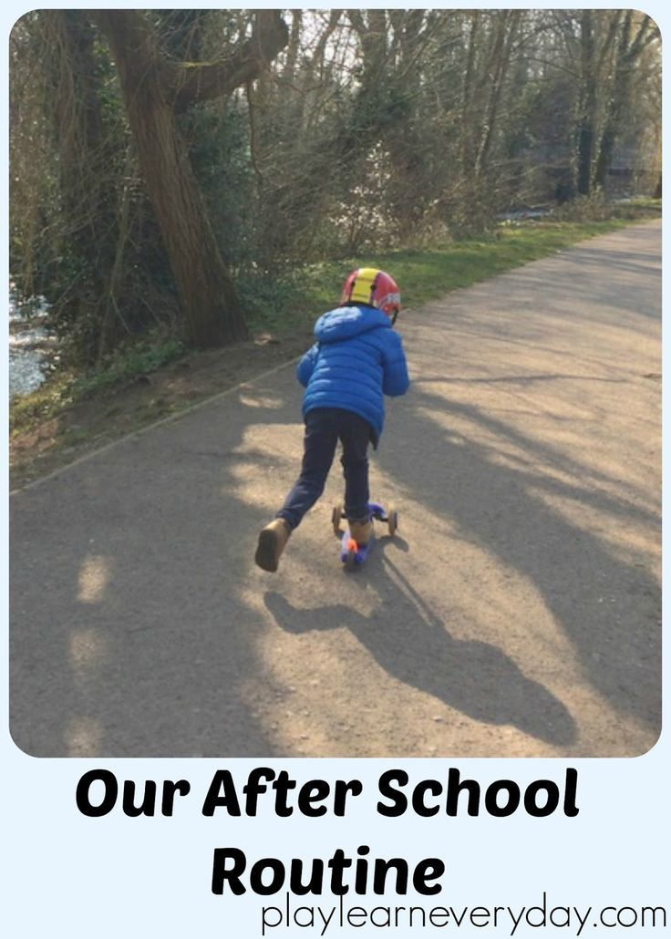 A run through of our daily after school routine including snacks, exercise, rest and reflecting on the day.