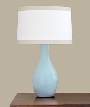 How to repaint lamps and lampshades