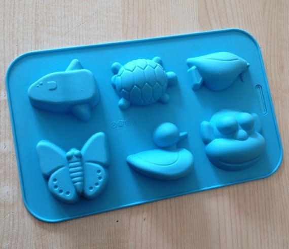 Monkey Duck Butterfly Soap Mold Cake Mold Silicone Mould For Candy Chocolate