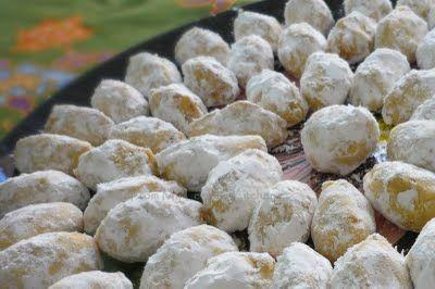 From My Lemony Kitchen Kuih Makmur Or Ghee Cookies With Peanut Filling Asian Desserts Festive Cookies Peanut
