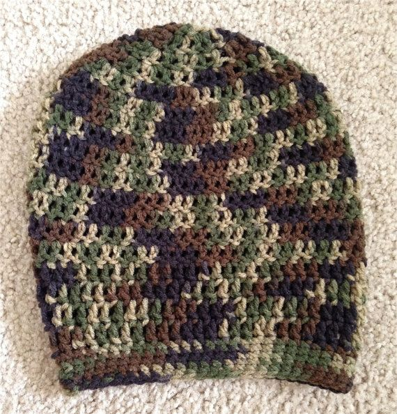 Hunting and Camo Lovers Slouchy Hat
