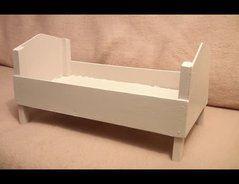 puppenbett selber bauen anleitung diy pinterest selber bauen anleitung puppenbett und. Black Bedroom Furniture Sets. Home Design Ideas