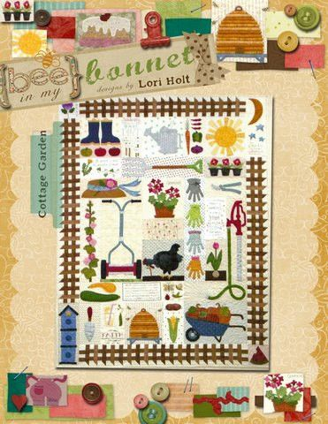Cottage Garden Quilt Pattern by Lori Holt | Chicken coop ideas ... : lori holt quilt patterns - Adamdwight.com