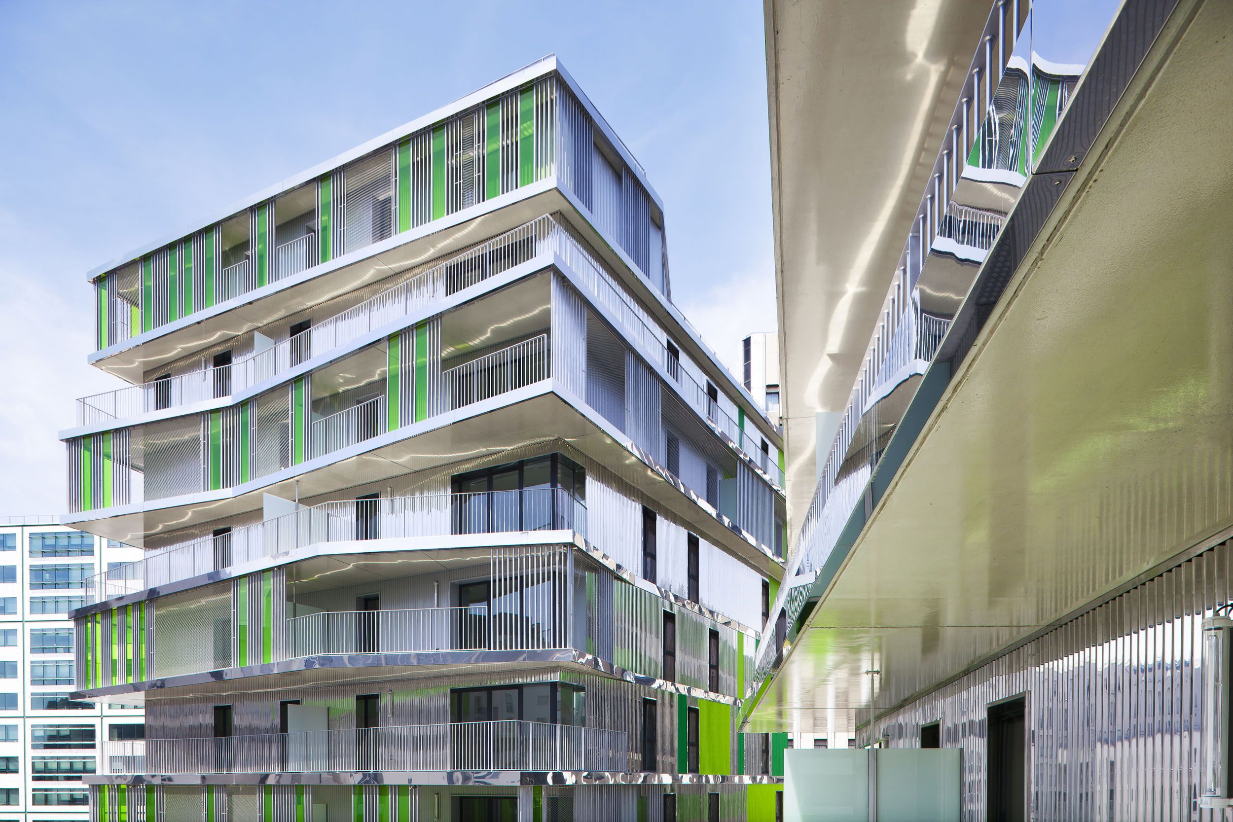 62 logements sociaux paris par hamonic masson architecture pinterest logement social. Black Bedroom Furniture Sets. Home Design Ideas