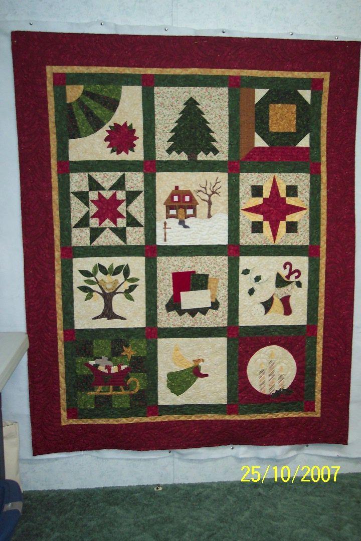 Chirstmas Sampler 015 Jpg 720 1 080 Pixels Quilts Sampler Quilt Christmas Quilts