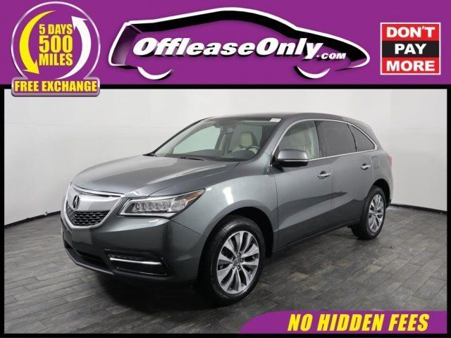 Nice Amazing Acura MDX Tech Pkg Off Lease Only Acura MDX - Lease an acura mdx