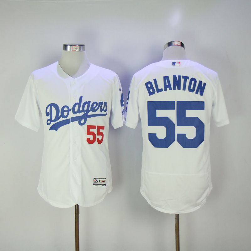 3e3ef2aa2 ... new zealand los angeles dodgers 55 blanton white men flexbase 2017 mlb  new jersey b4514 80ab5
