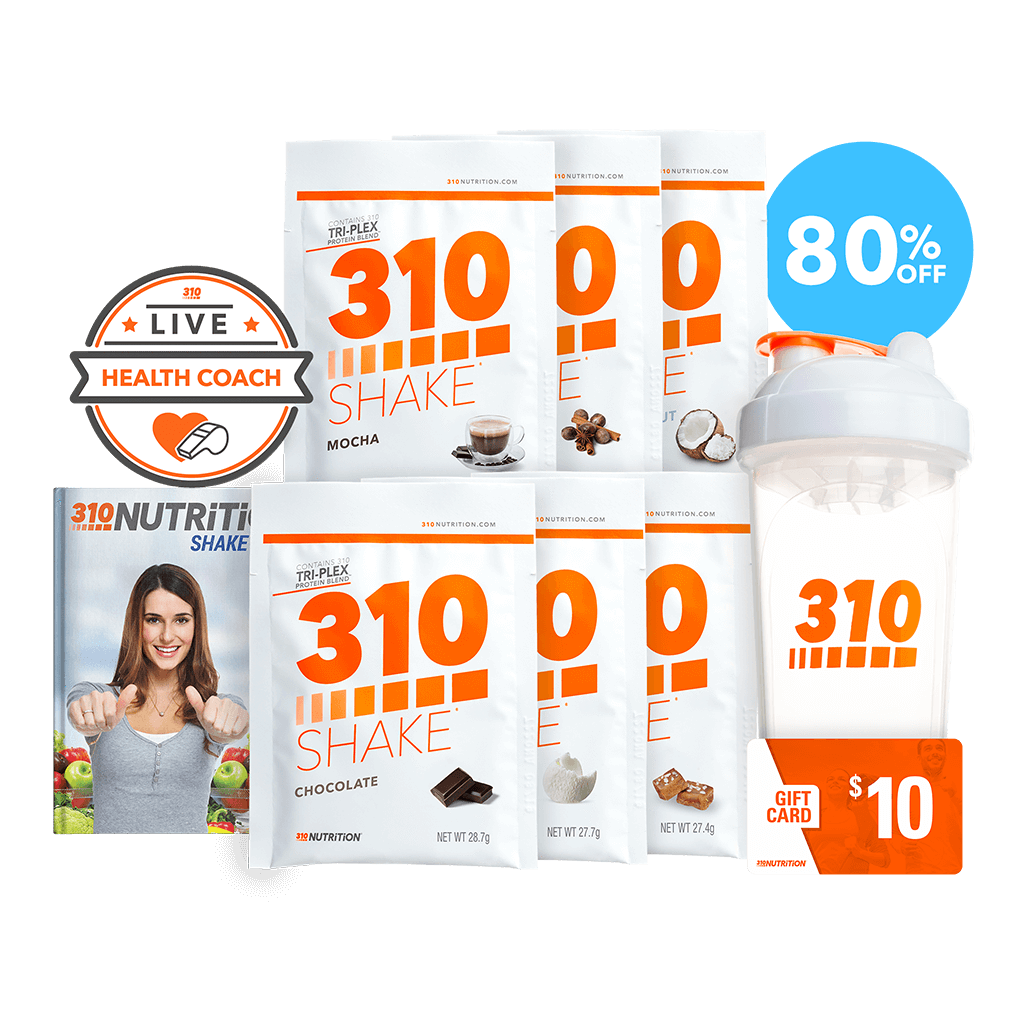 310 Nutrition Starter Kit 9 No Commitment 310 Nutrition Nutrition Shake Diet