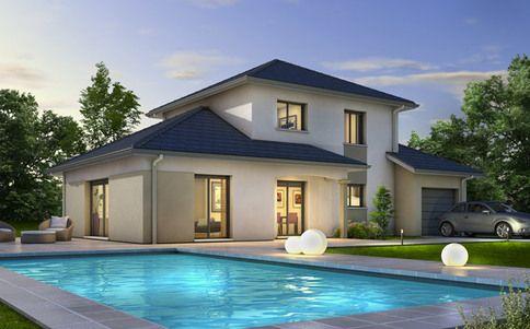 Plan de maison Semnoz maison Pinterest Plans de maison, Plans - plan de maison moderne a etage gratuit