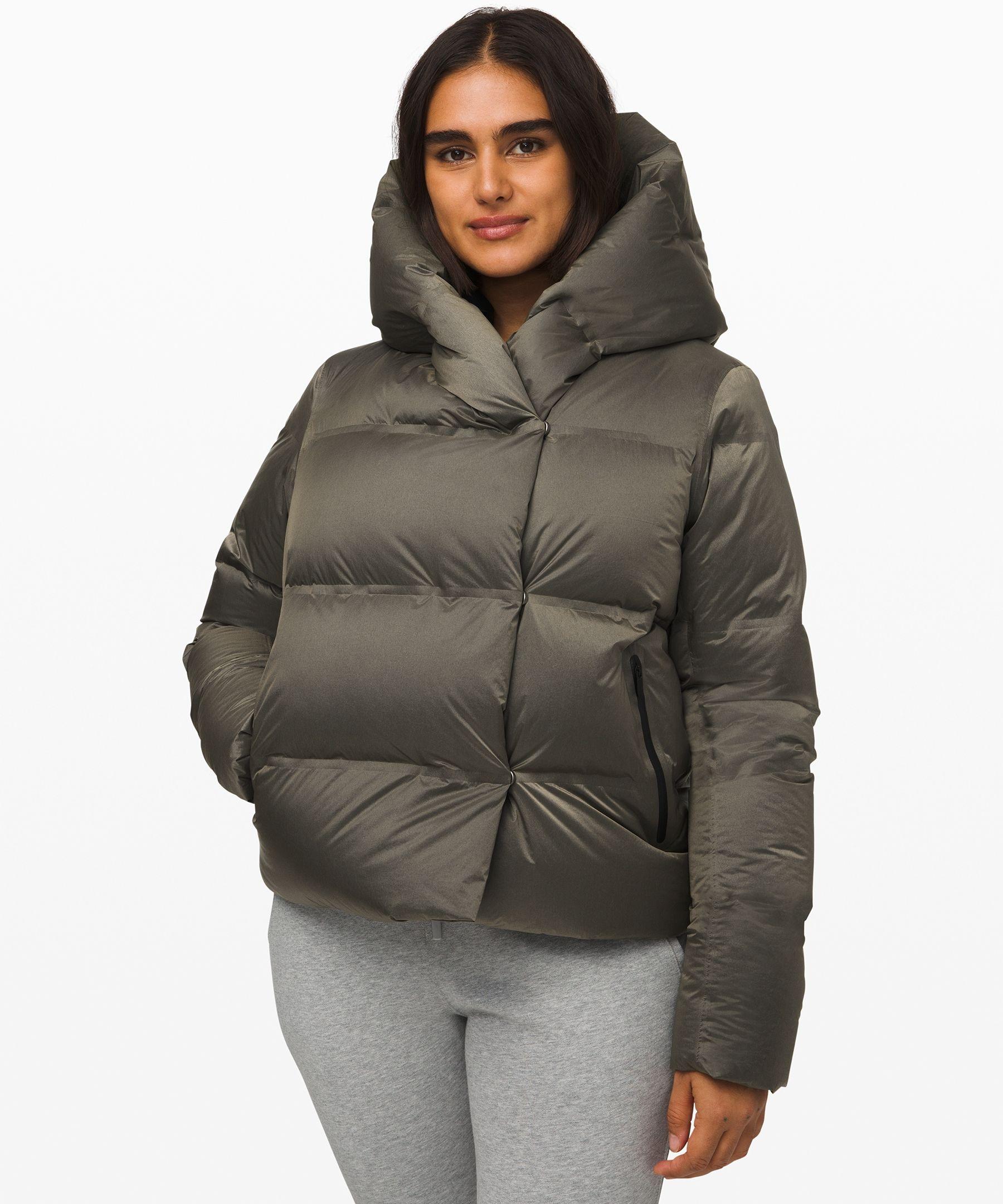 Lululemon Women S Cloudscape Wrap Short Vintage Taupe Size 10 Wrap Shorts Jackets Coats Jackets Women [ 2160 x 1800 Pixel ]