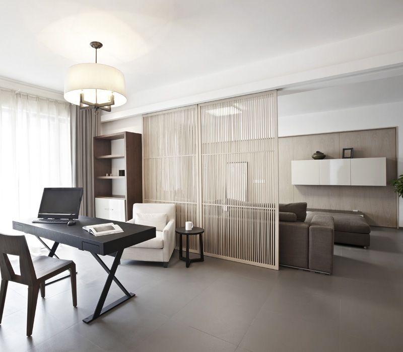 Moooie kleuren - houten paneel maakt de ruimte heel zacht - rustige ...