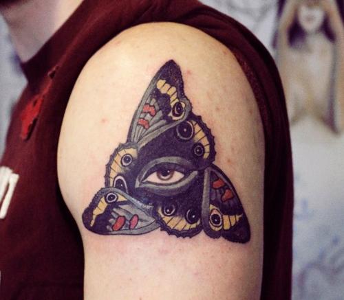 Butterfly Eye Eye Tattoo Meaning Eye Tattoo All Seeing Eye Tattoo