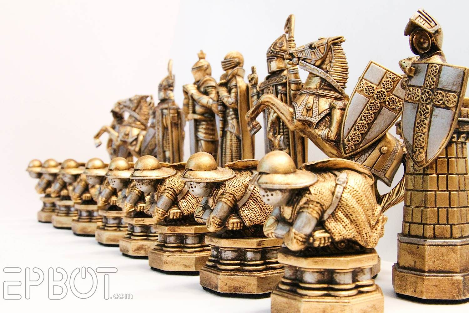My Harry Potter Wizards Chess Set Makeover Harry Potter Chess Wizard Chess Wizard Chess Set