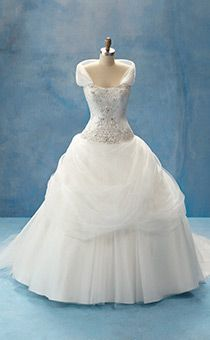 Disney Wedding Gowns By Alfred Angelo Collection Belle