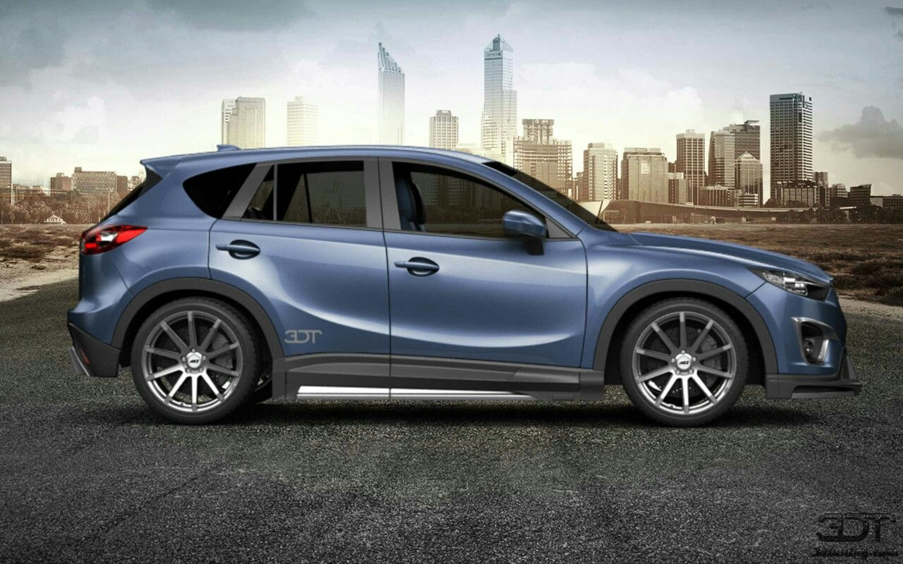 3d tuning mazda cx5 blue sky