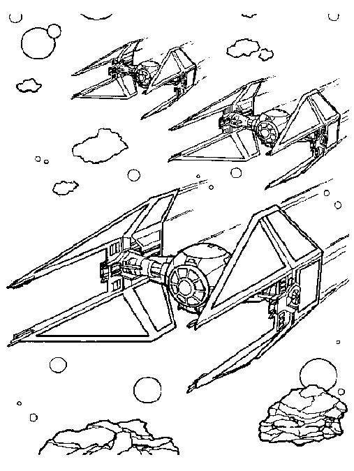 Coloriage Vaisseau Star Wars Star Wars Coloriage Star
