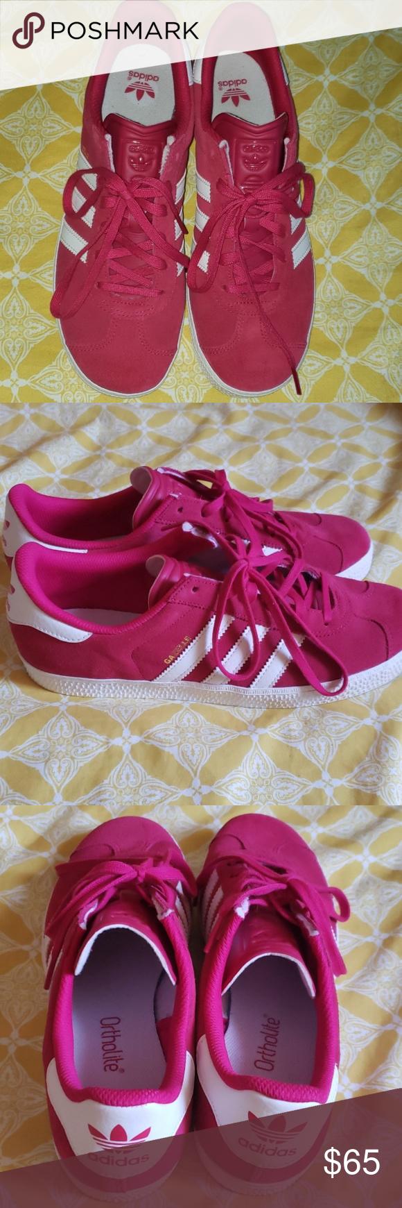 Adidas Hot Pink Gazelle   Pink gazelles