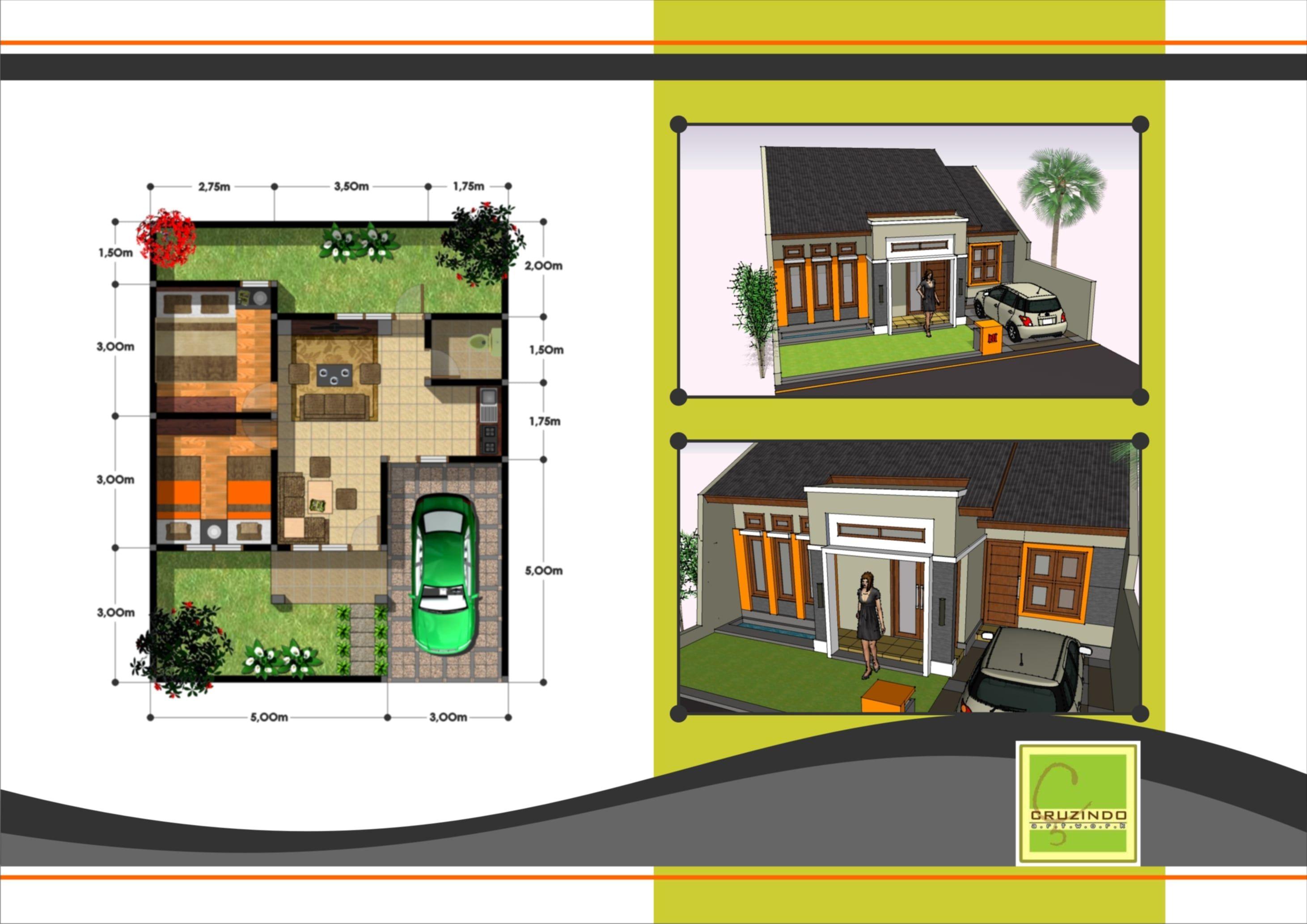 Desain Rumah Modern Dan Denahnya Minimalist House Design Design Your Dream House Home Design Plans